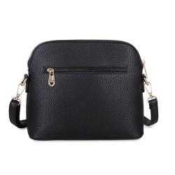 Long and Son 31135 Womens Black Crossbody Bag
