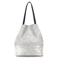 Long and Son 5242 Womens Silver Tote Bag