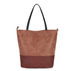 Long and Son 5242 Womens Brown Tote Bag