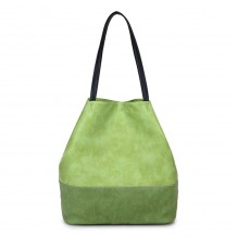 Long and Son 5242 Womens Green Tote Bag