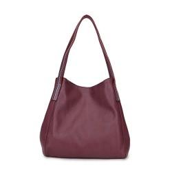 Long and Son 17103 Wine Shoulder Bag