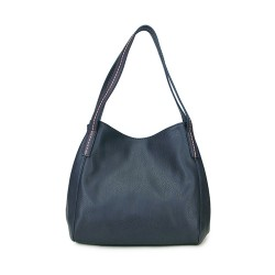 Long and Son  Womens Navy Shoulder Bag