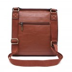 Long and Son 21601 Womens Red Crossbody Bag
