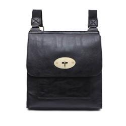 Long and Son 21601 Womens Black Crossbody Bag