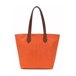 Long and Son 288-1 Womens Orange Tote Bag