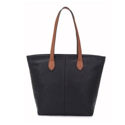 Long and Son 288-1 Womens Black Tote Bag