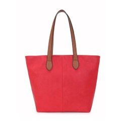 Long and Son 288-1 Womens Red Tote Bag
