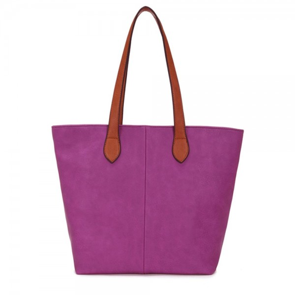 Long and Son 288-1 Womens Purple  Tote Bag