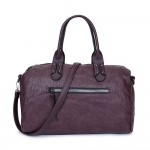 Long and Son 96616 Womens Coffee Holdall Bag
