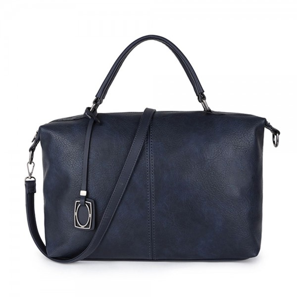 Long and Son 96625 Womens Black Holdall Bag