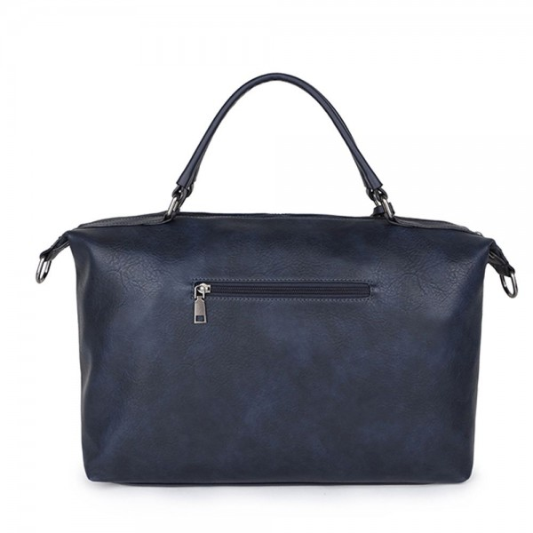 Long and Son 96625 Womens Navy Holdall Bag