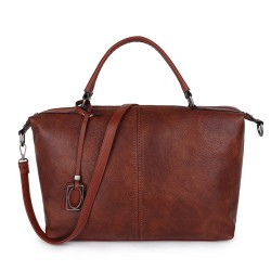 Long and Son 96625 Womens Brown Holdall Bag