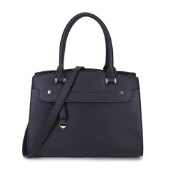Long and Son 2587 Womens Black Handbag