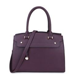 Long and Son 2587 Womens Purple Handbag