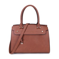 Long and Son 2587 Womens Brown Handbag