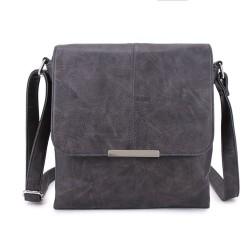 Long and Son 8183 Womens Grey Crossbody Bag