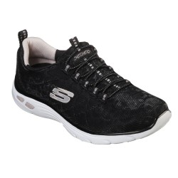 Skechers Empire D'Lux Wild Thoughts Bungee SlipOn Air Cooled Memory Foam Trainer