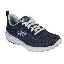 Skechers Flex Appeal 3.0 - First Insight Lace Up Air Cooled Memory Foam Trainer