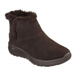 Skechers Go Walk Joy Chocolate Brown Boot