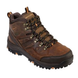 Skechers Relment-Traven Lace Up Waterproof Mens Dark Brown Boot
