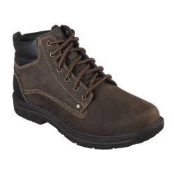 Skechers Segment Garnet Mens Chocolate Brown Boot