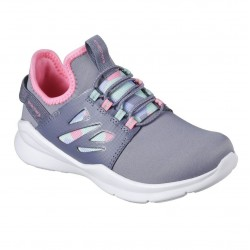 Skechers Skech Street Squad Prance Girls Grey Multi Trainer