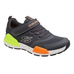 Skechers Kinectors Boys Charcoal Grey Trainer