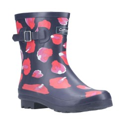Cotswold Badminton Womens Short Petal Wellington Boot