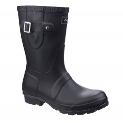 Cotswold Windsor Womens Short Black Wellington Boot