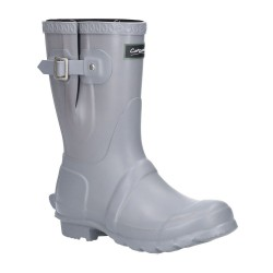 Cotswold Windsor Womens Short Grey Slate Wellington Boot