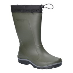 Cotswold Minchinhampton Lined Wellington Boot Green