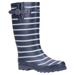 Cotswold Sailor Womens Navy Wellington Boot
