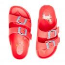 Joules Shore Girls Pink Sandal