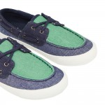 Joules Falmouth Boys Chambray Shoe