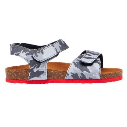Joules Kitt Camo Boys Blue Sandal
