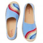 Joules Shelbury Girls Blue Shoe