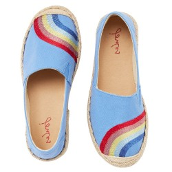 Joules Shelbury Girls Blue Shoe