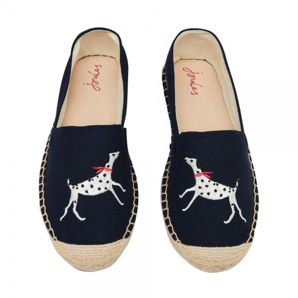 Joules Shelbury Girls Navy Shoe