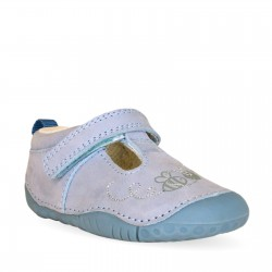 Start Rite Honey Infant Girls Pale Blue Shoe