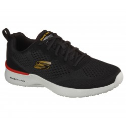 Skechers Skech Air Dynamight Mens Black Trainer