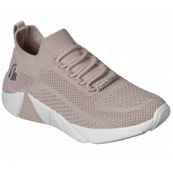 Skechers A Line Diamond Glider Girls Pink Trainer