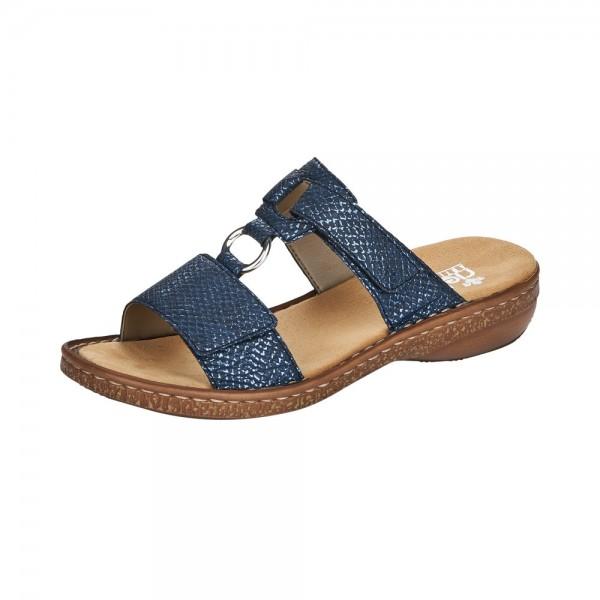 Rieker 628P914 Womens Navy Sandal