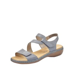 Rieker 659C712 Womens Blue Sandal
