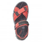 Rieker 6885133 Womens Red Sandal