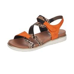 Rieker V506924 Womens Brown Combi Sandal
