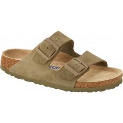 Birkenstock Arizona Womens Faded Khaki Sandal