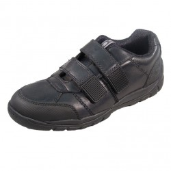 Start-rite Volcanic Boys Black School Shoe 8207