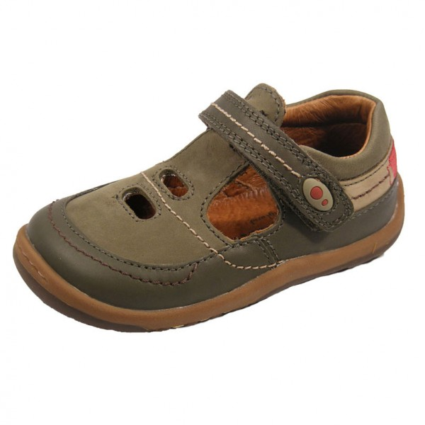 Start-rite Abacus Boys Khaki Shoe