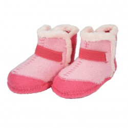 Giesswein Karlsetten Girls Pink Slipper