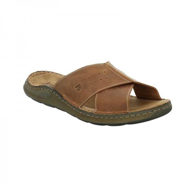 Josef Seibel Maverick 04 Mens Chestnut Sandal